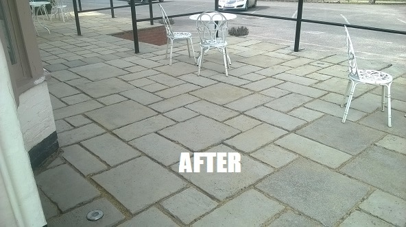 Commercial Cleaning Terrace Patio Maidstpne