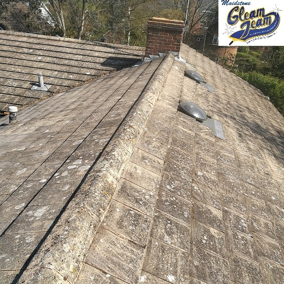 Roof Cleaning Moss Removal Kent London