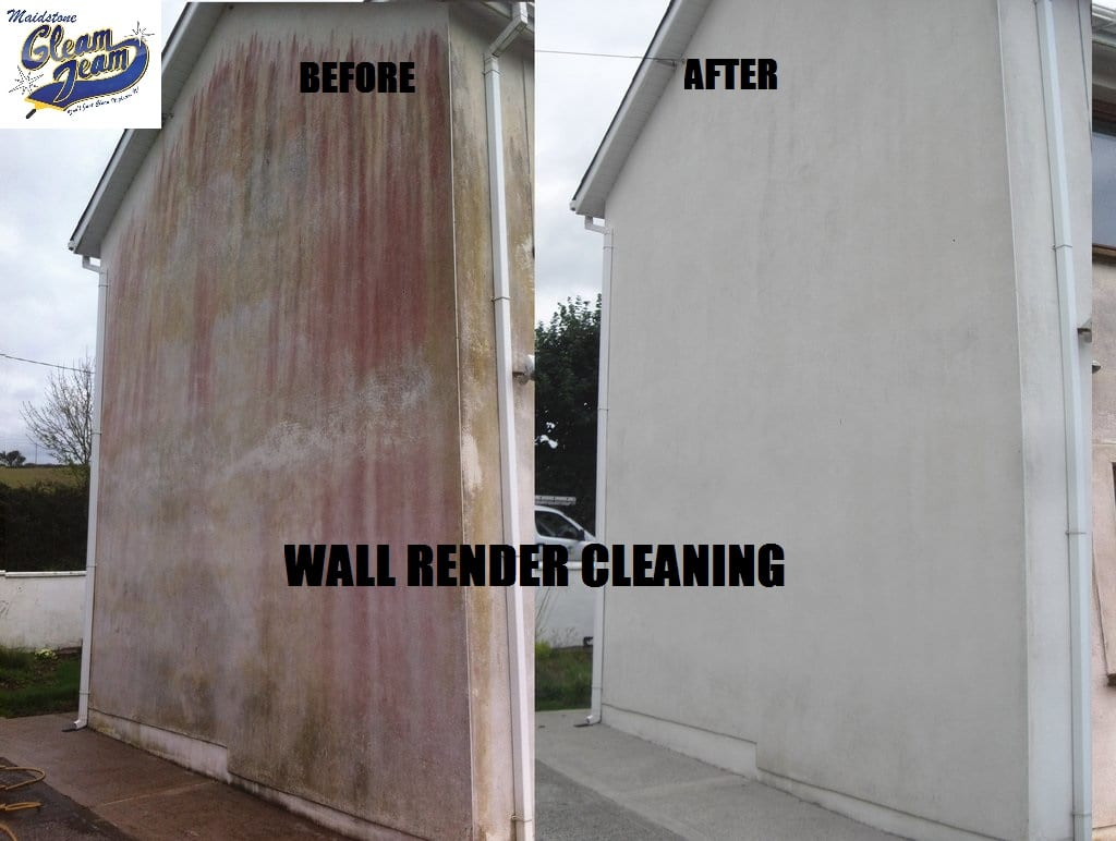 Rendered Wall Cleaning Gleam Team