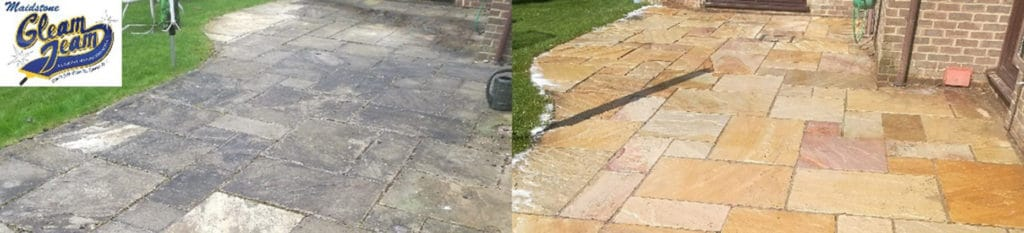 Exterior cleaning services building cleaning maidstone for Garden decking maidstone