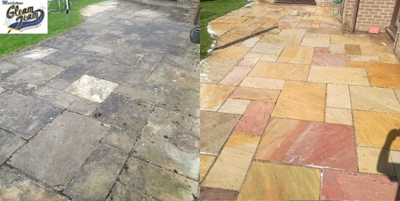 sandstone-patio-cleaning-bromley