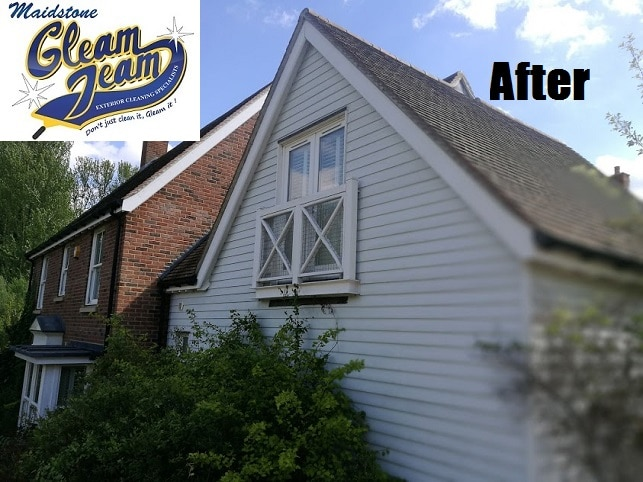 exterior cladding cleaning