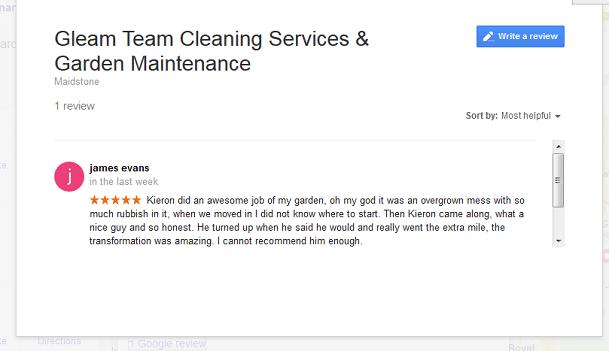 Gleam-Team-review-on-Google-2016