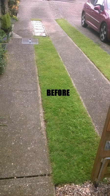 concrete-driveway-before-cleaning-medway