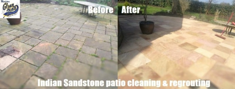 sandstone-patio-before-and-after-cleaning-sealing-repointing-kent