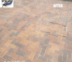 block-paving-driveway-after-pressure-washing-resanding-and-sealing-in Ashford
