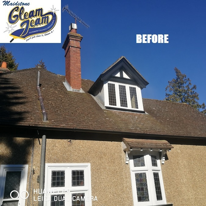 house-roof-before-cleaning-london