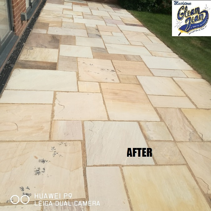Indian-sandstone-patio-cleaners-in-London