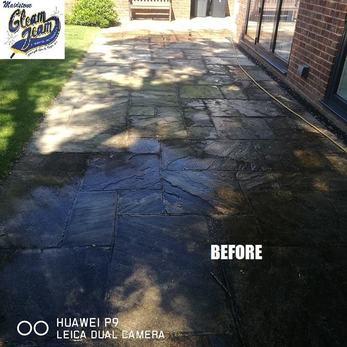 Indian-Saandstone-patio-cleaning-London