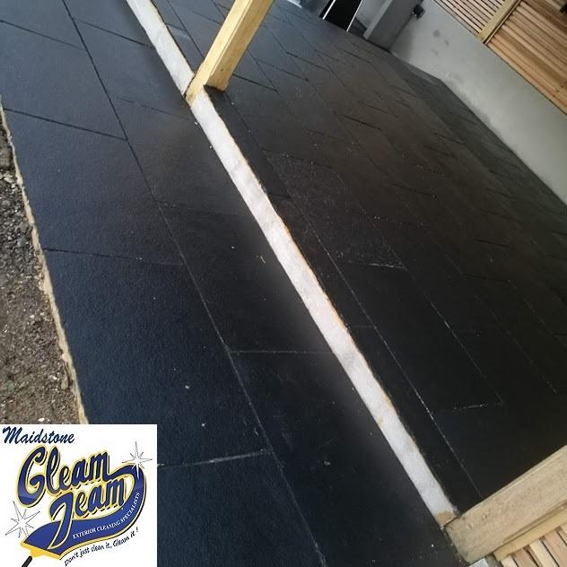 black-limestone-after-colour-enhancer-treatment-kent