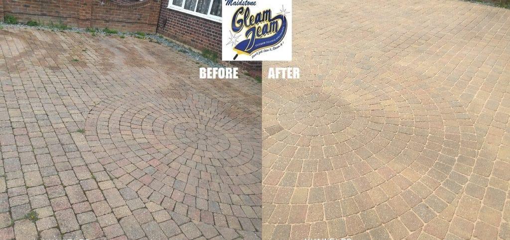 block-paving-cleaning-Orpinton-Kent