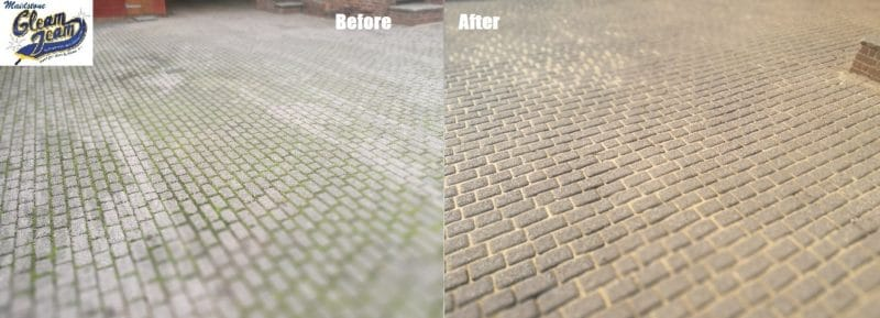 block-paving-driveway-cleaning-kings-hill-maidstone