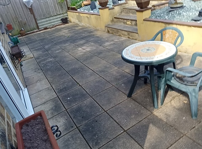 patio-stained-with-dirt-algae-lichen