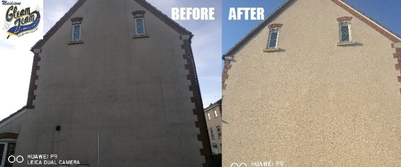 exterior-house-wall-render-cleaning-surrey