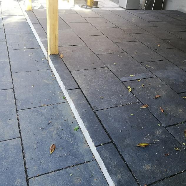 grey-blue-limestone-patio-cleaners-Maidstone-Kent