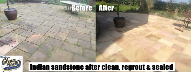 indian-sandstone-patio-softwashing-renovation-repointing-london