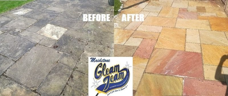 sandstone-patio-before-and-after-cleaning-restoration-london