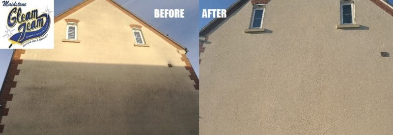 Exterior Building Cleaning Maidstone Softwashing Render