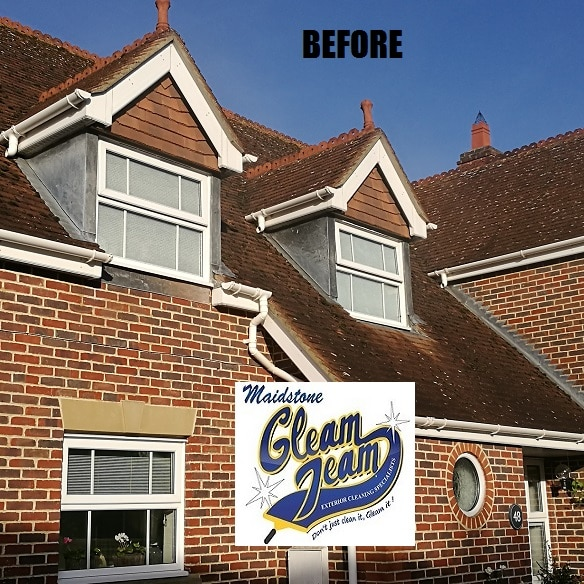 roof-tiles-before-cleaning-surrey