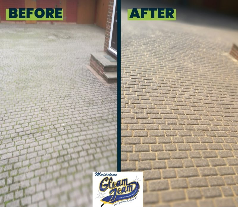 block-paving-cleaning-services-Maidstone-Kent