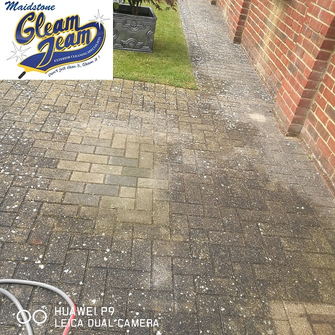 block-paving-maintenance-before-refurbishment-gillingham-kent