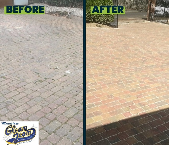 block-paved-drive-cleaned-resanded-sealed-Kent