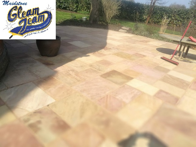 stone-patio-after-cleaning-repointing-sealing-Kent